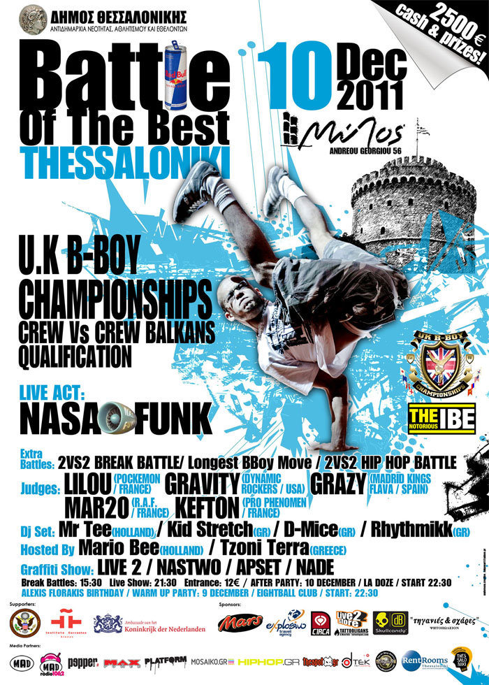 Battle Of The Best Thessaloniki 2011