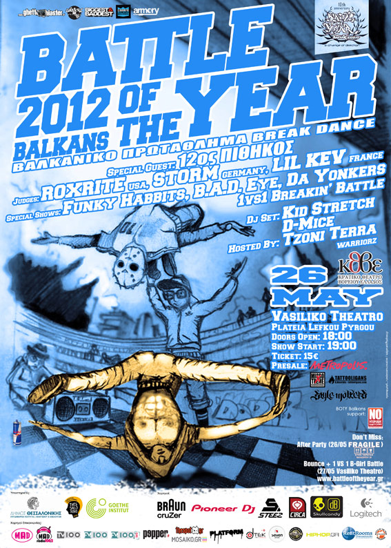 Battle of The Year Balkans 2012