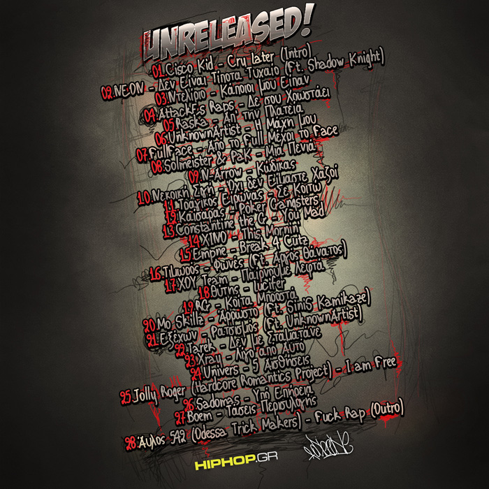 Unreleased: a hiphop.gr Mixtape